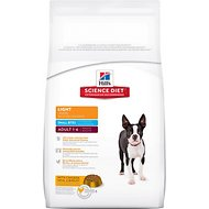 Hill's Science Diet Adult Light Small Bites Dry Dog Food, 33-lb bag