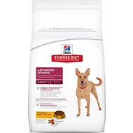 Hill's Science Diet Adult Advanced Fitness Chicken & Barley Recipe Dry Dog Food, 38.5-lb bag