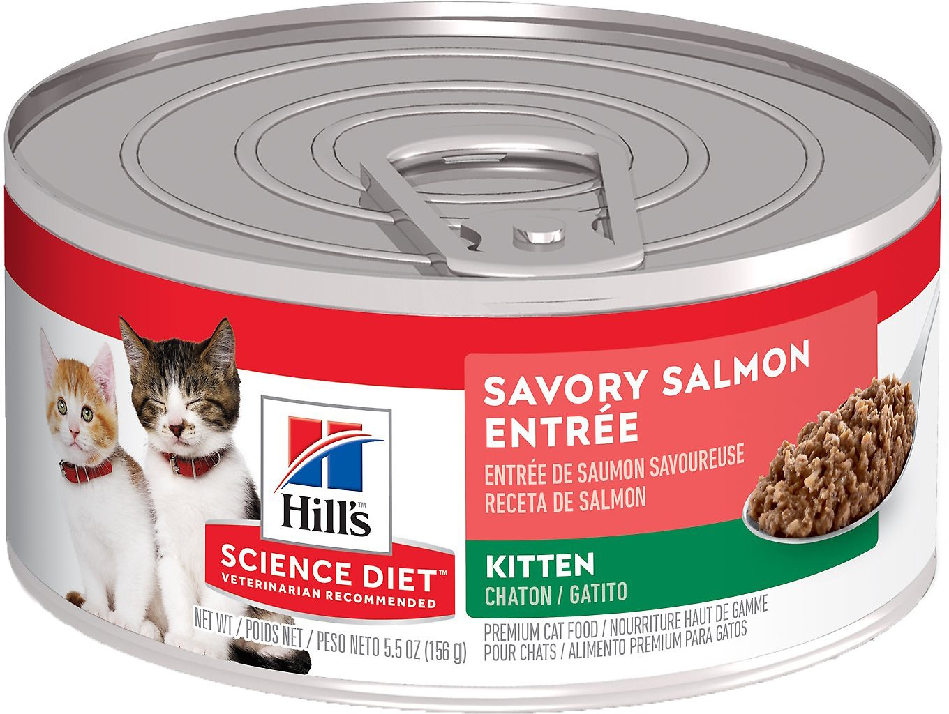 Hill s Science Diet Kitten Savory Salmon Entree Canned Cat Food