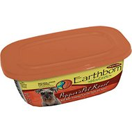 Earthborn Holistic Pepper's Pot Roast Grain-Free Natural Moist Dog Food, 9-oz, case of 8