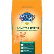 Nature's Recipe Easy-To-Digest Fish Meal & Potato Recipe Dry Dog Food, 30-lb bag
