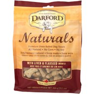 Darford Naturals Liver & Flaxseed Dog Treats, 14.1-oz bag