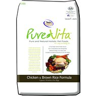 PureVita Chicken & Brown Rice Formula Dry Dog Food, 15-lb bag