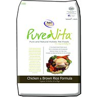 PureVita Chicken & Brown Rice Formula Dry Dog Food, 25-lb bag