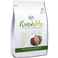 PureVita Duck & Oatmeal Formula Dry Dog Food, 15-lb bag