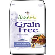 PureVita Grain-Free Turkey Formula With Sweet Potatoes & Peas Dry Dog Food, 5-lb bag