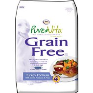 PureVita Grain-Free Turkey Formula With Sweet Potatoes & Peas Dry Dog Food, 25-lb bag