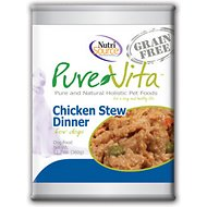 PureVita Grain-Free Chicken Stew Dinner Canned Dog Food, 12.7-oz, case of 12