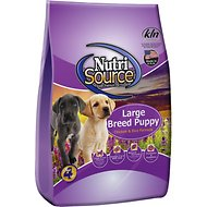 NutriSource Large Breed Puppy Chicken & Rice Formula Dry Dog Food, 30-lb bag