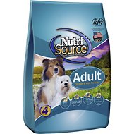 NutriSource Adult Chicken & Rice Formula Dry Dog Food, 33-lb bag