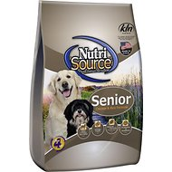 NutriSource Senior Chicken & Rice Formula Dry Dog Food, 6.6-lb bag