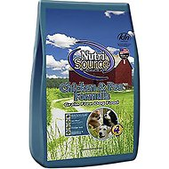 NutriSource Grain-Free Chicken & Pea Formula Dry Dog Food, 5-lb bag