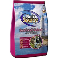 NutriSource Grain-Free Seafood Select Formula Dry Dog Food, 15-lb bag