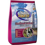 NutriSource Grain-Free Seafood Select Formula Dry Dog Food, 30-lb bag