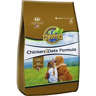 Natural Planet Chicken & Oats Formula Dry Dog Food, 5-lb bag