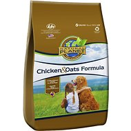 Natural Planet Chicken & Oats Formula Dry Dog Food, 25-lb bag