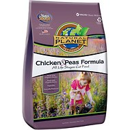 Natural Planet Chicken Formula Dry Cat Food, 2.2-lb bag