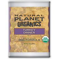 Natural Planet Turkey Dinner Canned Dog Food, 13-oz, case of 12