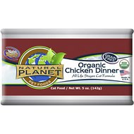 Natural Planet Chicken Dinner Canned Cat Food, 5-oz, case of 12