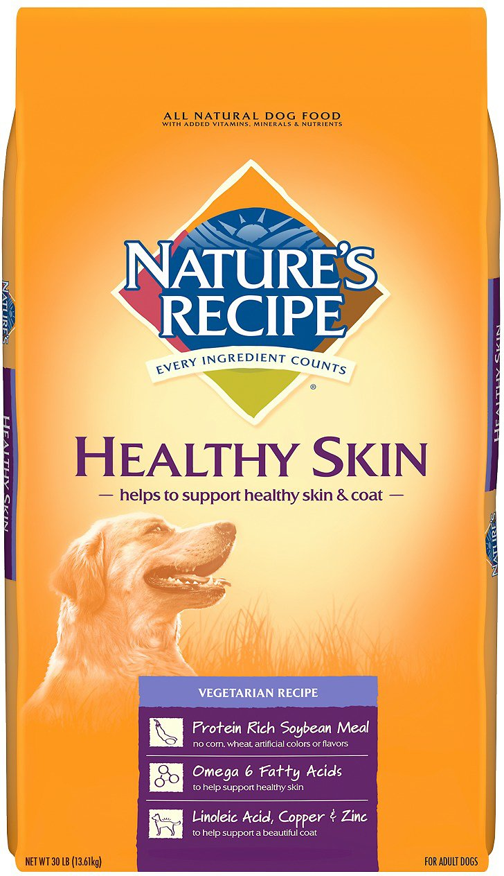 Natures recipe healthy skin vegetarian recipe dry dog food 30 lb video forumfinder Image collections
