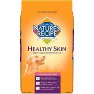 Nature's Recipe Healthy Skin Venison Meal & Rice Recipe Dry Dog Food, 30-lb bag