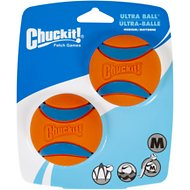 Chuckit! Ultra Rubber Ball, Medium, 2 pack