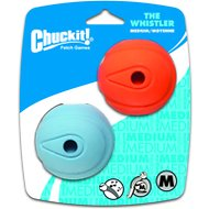 Chuckit! The Whistler Ball, Medium, 2 pack