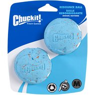Chuckit! Rebounce Ball Twin Pack, Color Varies, Medium