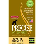 Precise Naturals Senior Formula Dry Dog Food, 30-lb bag
