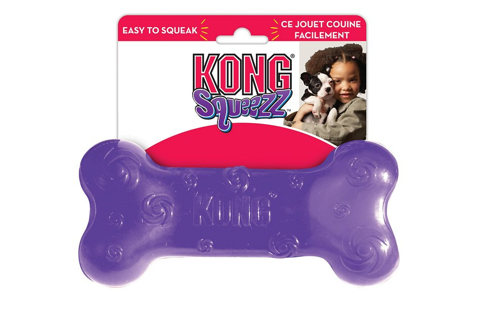 Kong Squeezz Stick Dog Toy Color Varies Large