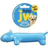"JW Pet Megalast ""Long Dog"" Dog Toy, Color Varies, Medium"