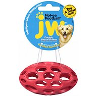 JW Pet Hol-ee Football Dog Toy, Color Varies, Mini