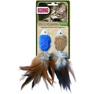 KONG Crinkle Fish Cat Toy, Color Varies