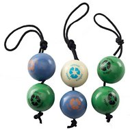 Planet Dog Orbee-Tuff Recycle Ball Value Pack, Color Varies, 2.5-in
