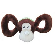 Jolly Pets Tug-a-Mals Monkey Dog Toy, Small
