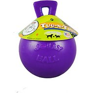 Jolly Pets Tug-n-Toss Dog Toy, Purple, 4.5-inch