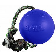 Jolly Pets Romp-n-Roll Dog Toy, Blue, 4.5-inch