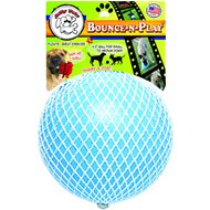 Jolly Pets Bounce-n-Play Dog Toy, Blueberry, 4.5-inch
