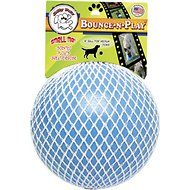 Jolly Pets Bounce-n-Play Dog Toy, Blueberry, 6-inch