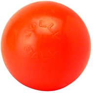 Jolly Pets Bounce-n-Play Dog Toy, Orange, 8-inch