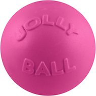 Jolly Pets Bounce-n-Play Dog Toy, Pink, 8-inch