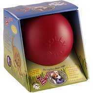 Jolly Pets Teaser Ball Dog Toy, Red, 6-inch