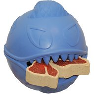 Jolly Pets Monster Ball Dog Toy, 2.5-in