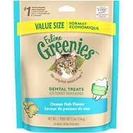 Greenies Feline Ocean Fish Flavor Dental Cat Treats, 5.5-oz bag