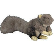 HuggleHounds Feller Squirrel Dog Toy, Lil Squirrel