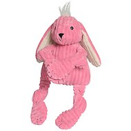 HuggleHounds Knottie Bunny Dog Toy, Large