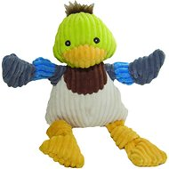 HuggleHounds Knottie Duck Dog Toy, Small