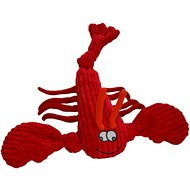 HuggleHounds Knottie Lobster Dog Toy, Large