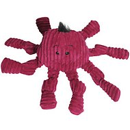HuggleHounds Knottie Purple Octopus Dog Toy