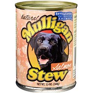 Mulligan Stew Salmon Recipe Canned Dog Food, 13-oz, case of 12